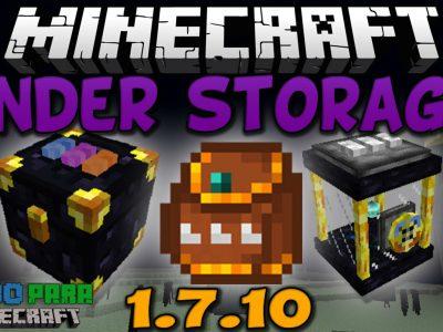 Mod Ender Storage para Minecraft 1.7/1.6/1.5/1.4/1.3/1.2