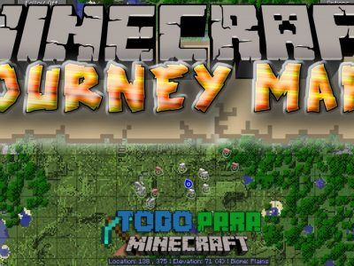 Mod Journey Map para Minecraft 1.10/1.9/1.8/1.7/1.6/1.5