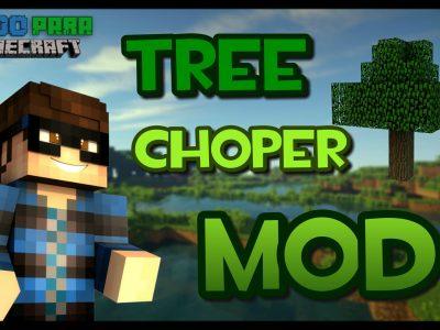 Mod Tree Chopper para Minecraft 1.10.2