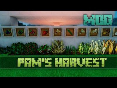 Mod Pam's HarvestCraft para Minecraft 1.10/1.9/1.8/1.7