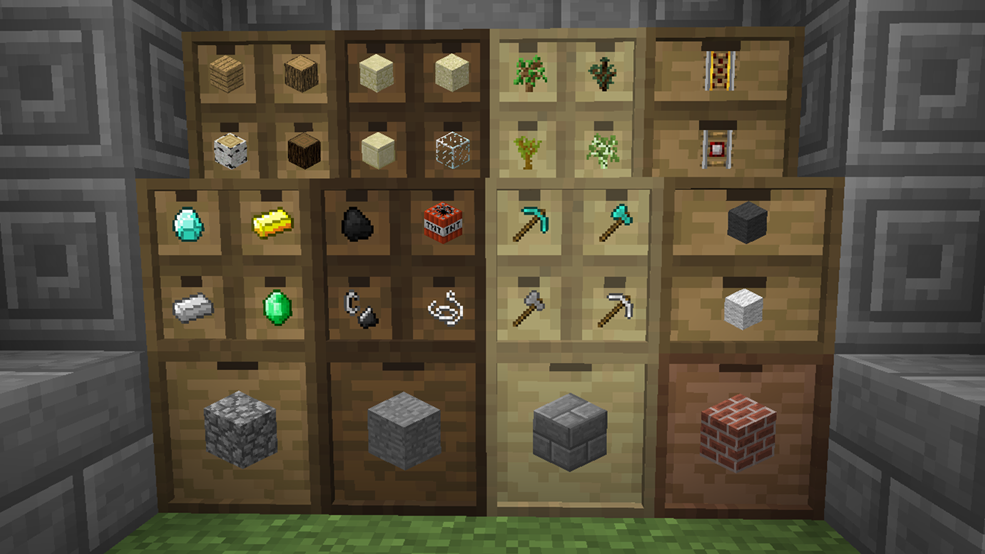 mod Storage Drawers