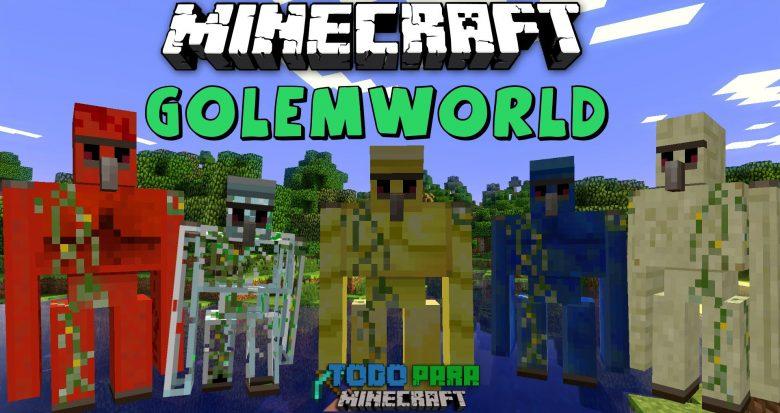 Mod Golem World para Minecraft 1.7/1.6 (Planeta Vegetta)