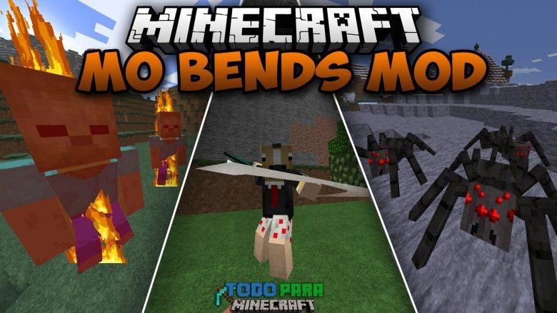 Mod Mo' Bends para Minecraft 1.10/1.9/1.8/1.7