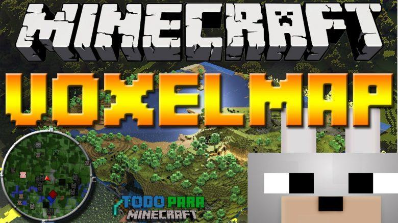 Mod VoxelMap para Minecraft 1.10/1.9/1.8/1.7