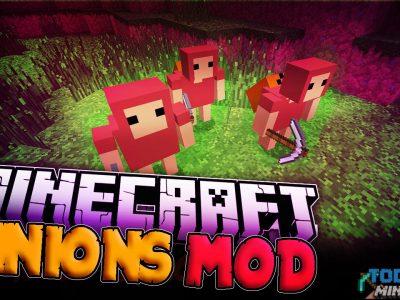 Mod Minions para Minecraft 1.8/1.7/1.6 (Planeta Vegetta)