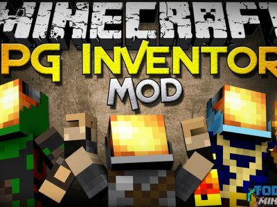 Mod RPG Inventory para Minecraft 1.8 (Planeta Vegetta)