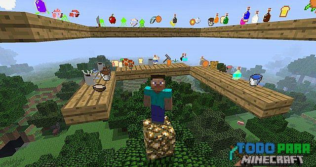 Mod AppleSkin para Minecraft 1.10