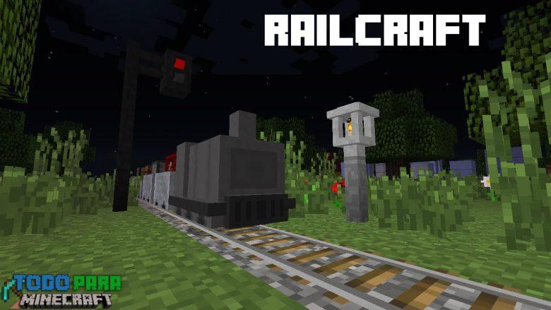Mod Railcraft para Minecraft 1.10/1.7/1.6/1.5/1.4