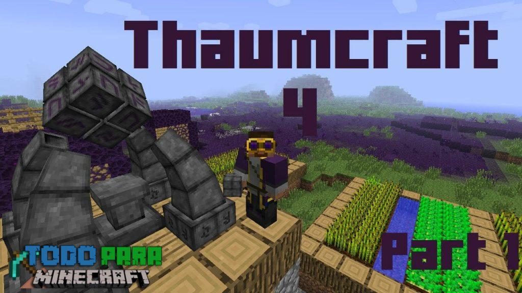Mod Thaumcraft para Minecraft 1.8/1.7