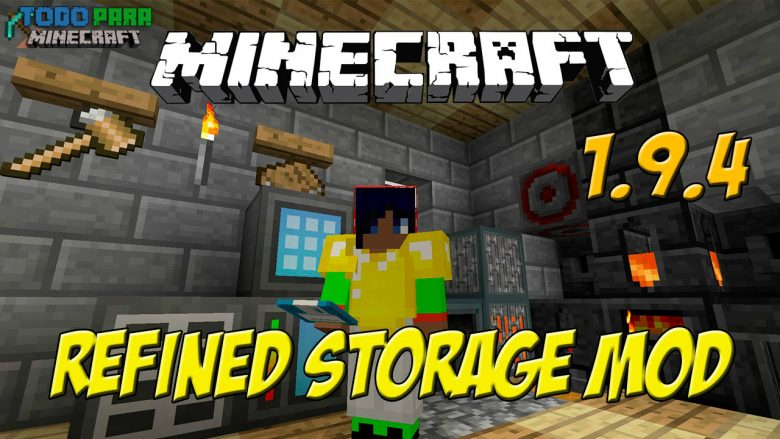 Mod Refined Storage para Minecraft 1.10/1.9