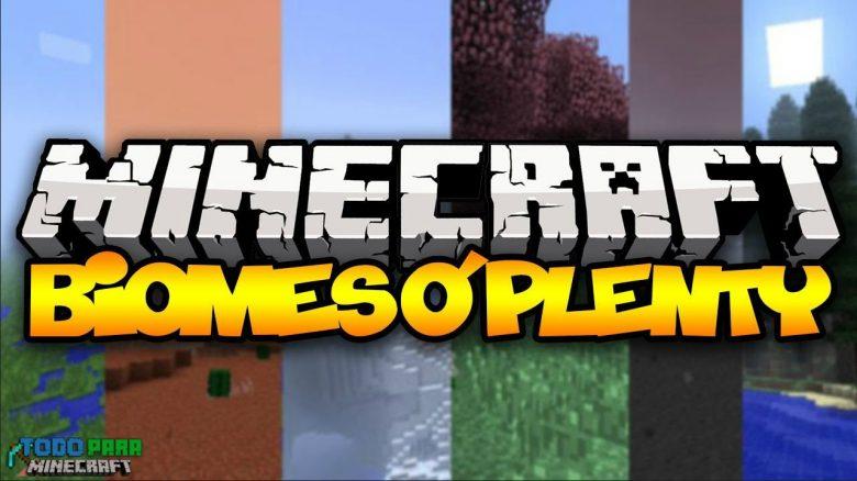 Mod Biomes o' Plenty para Minecraft 1.11/1.10/1.9/1.8/1.7
