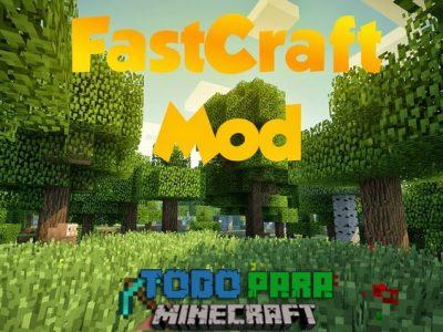 Mod Fastcraft para Minecraft 1.7