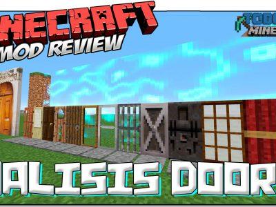 Mod MalisisDoors para Minecraft 1.10/1.9/1.8/1.7