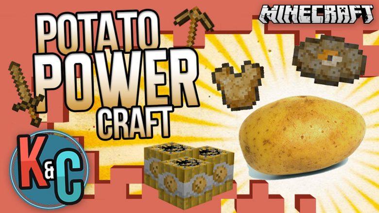 Mod Potato Power Craft para Minecraft 1.8