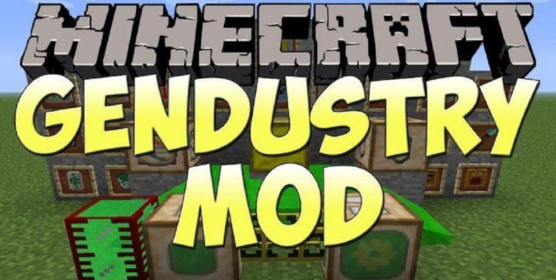 Mod Gendustry para Minecraft 1.10/1.7/1.6