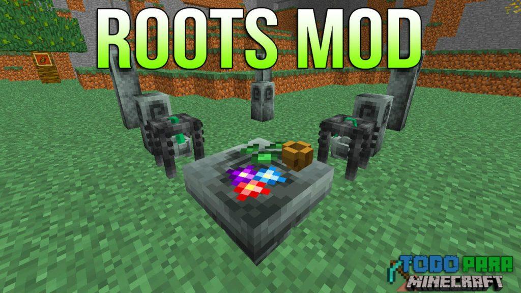 Mod Roots para Minecraft