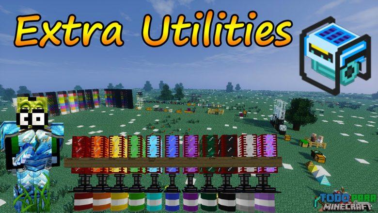 Mod Extra Utilities para Minecraft 1.10/1.9/1.8/1.7