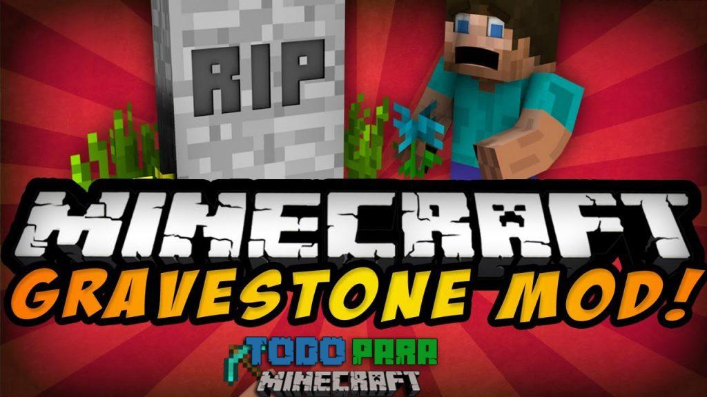 Mod GraveStone para Minecraft