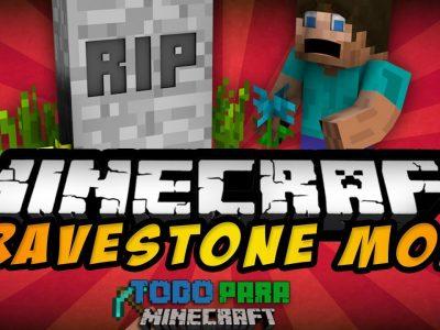 Mod GraveStone para Minecraft 1.11/1.10/1.9/1.8/1.7/