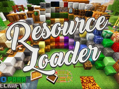 Mod Resource Loader para Minecraft 1.11/1.10/1.9/1.8/1.7