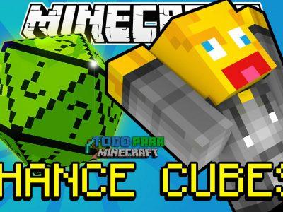 Mod Chance Cubes para Minecraft 1.11/1.10/1.9/1.8/1.7