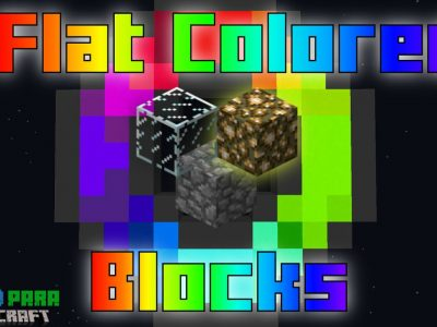 Mod Flat Colored Blocks para Minecraft 1.11/1.10/1.9/1.8