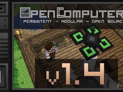 Mod Open Computers para Minecraft 1.10/1.9/1.8/1.7/1.6