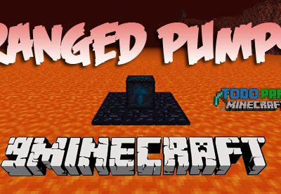 Mod Ranged Pumps para Minecraft 1.11/1.10