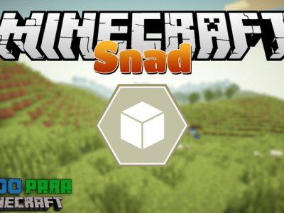 Mod Snad para Minecraft 1.10/1.8/1.7