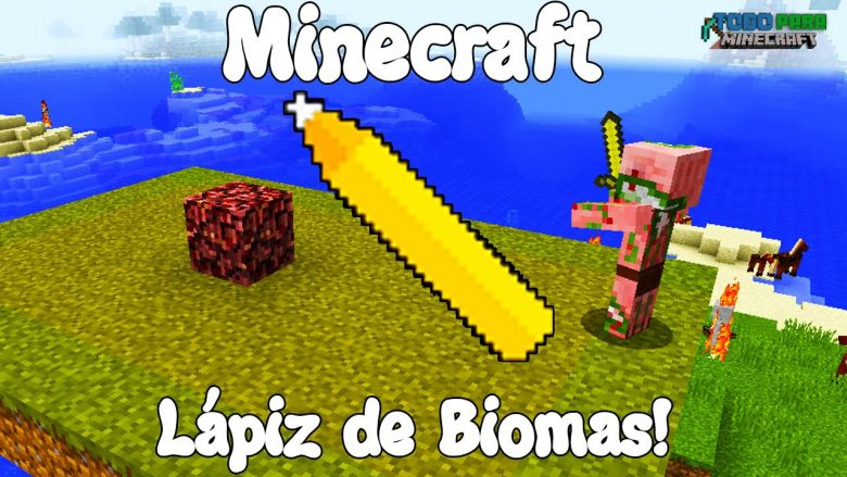Mod Biome Paint Tools para Minecraft 1.11/1.10