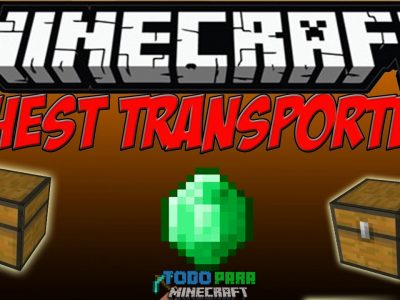 Mod Chest Transporter para Minecraft 1.11/1.10/1.9/1.8/1.7