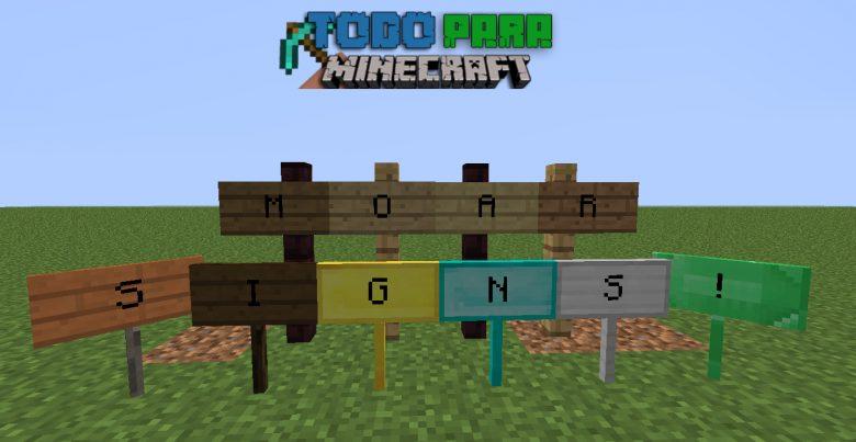 Mod MoarSings para Minecraft 1.10/1.9/1.8/1.7/1.6
