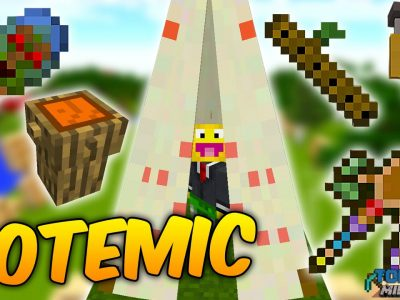 Mod Totemic para Minecraft 1.11/1.10/1.9/1.8/1.7