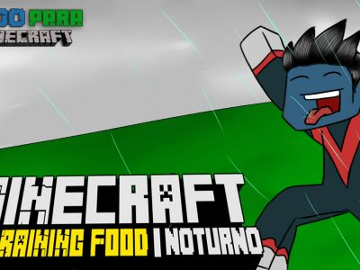 Mod It's Raining Food! para Minecraft 1.10/1.7