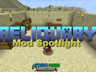 Mod Reliquary para Minecraft 1.11/1.10/1.9/1.8/1.7