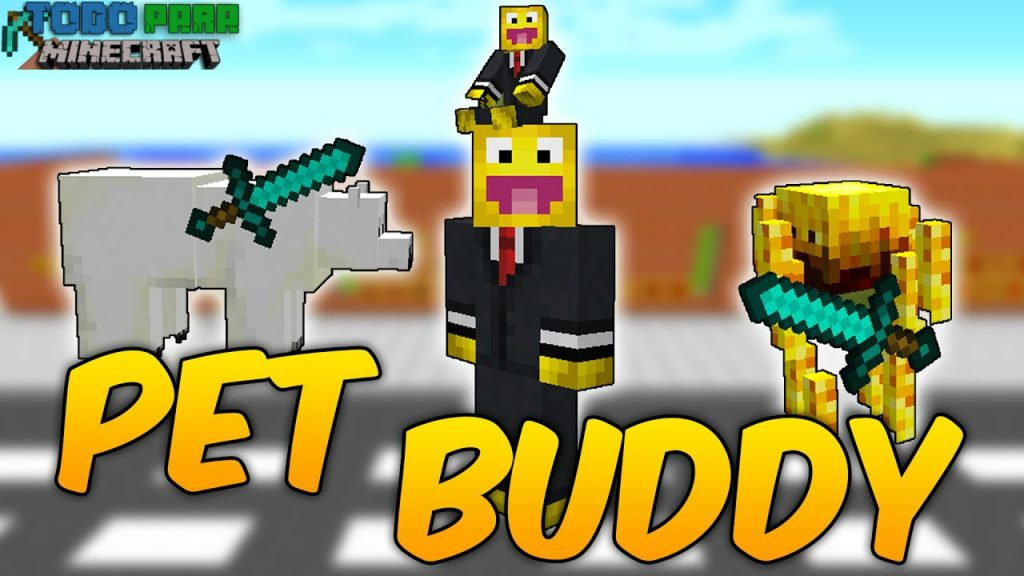 Mod Pet Buddy para Minecraft