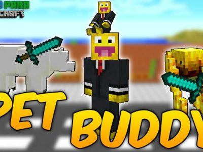 Mod Pet Buddy para Minecraft 1.11/1.10
