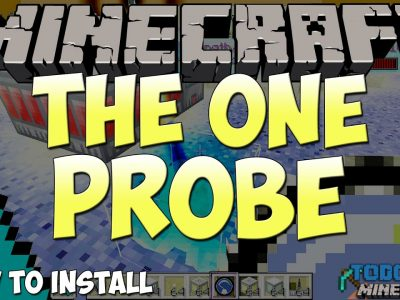 Mod The One Probe para Minecraft 1.11/1.10/1.9