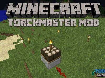 Mod TorchMaster para Minecraft 1.11/1.10