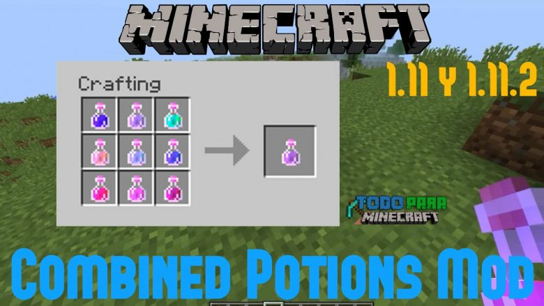 Mod Combined Potions para Minecraft 1.11/1.10