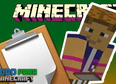 Mod Clipboard para Minecraft 1.11/1.10