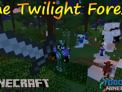 Mod Twilight Forest para Minecraft 1.7