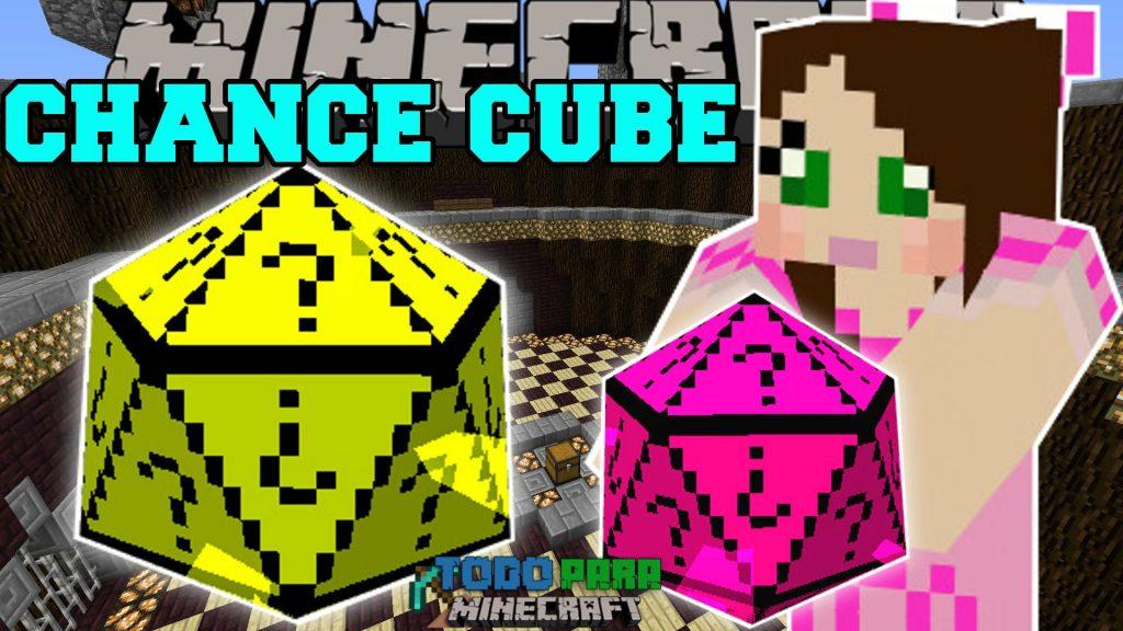 Mod Chance Cubes para Minecraft