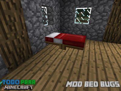 Mod Bed Bugs para Minecraft 1.12/1.11/1.10
