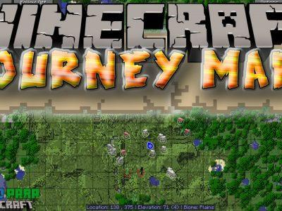 Mod JourneyMap para Minecraft 1.12/1.11/1.10/1.9