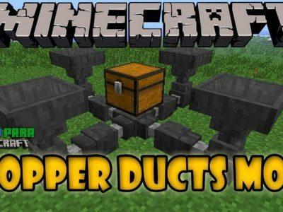 Mod Hopper Ducts para Minecraft 1.12/1.11/1.10