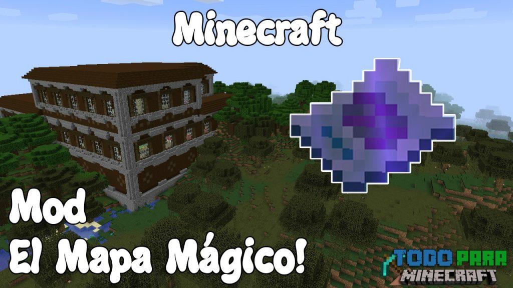 Mod Magical Map para Minecraft