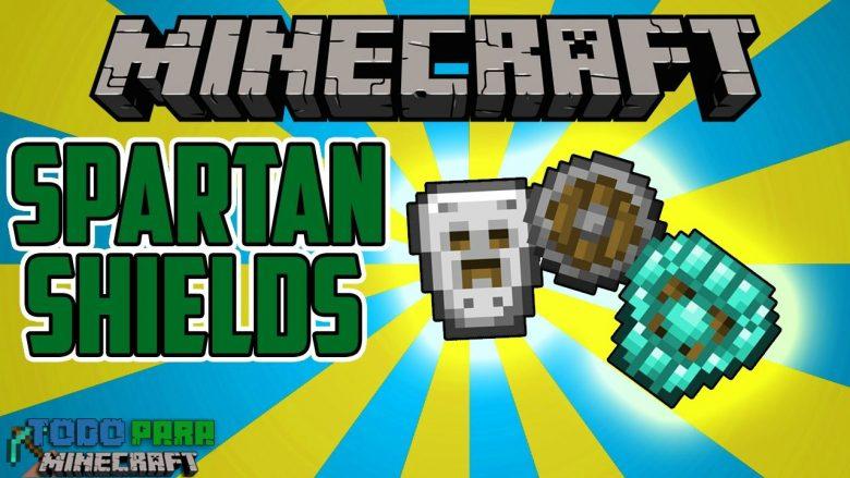 Mod Spartan Shields para Minecraft 1.12/1.11/1.10