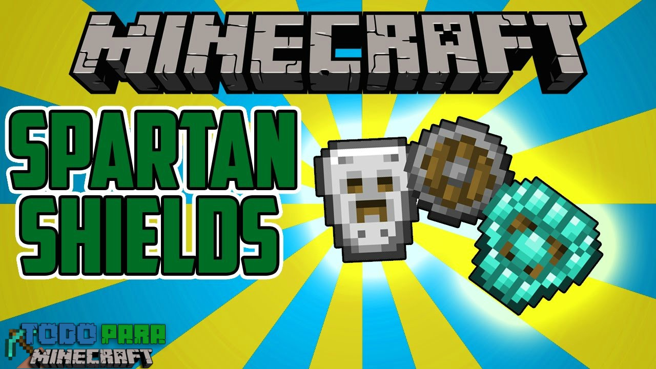 Mod Spartan Shields para Minecraft