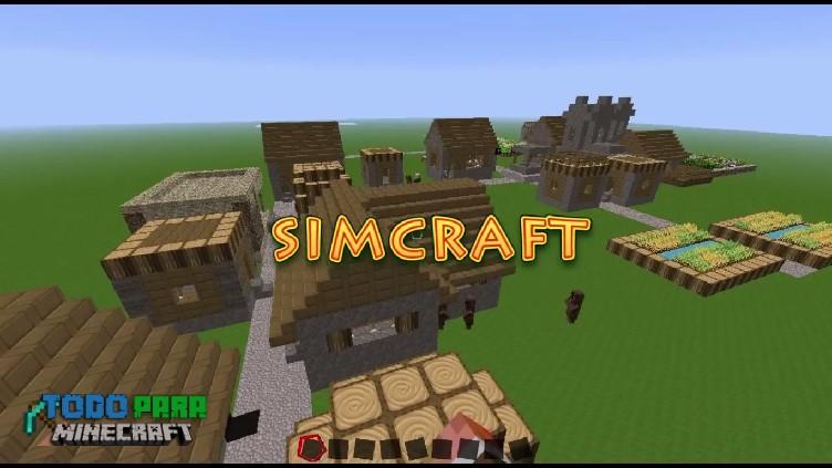 Mod Simcraft para Minecraft 1.12/1.6